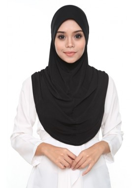 Basic Hijab Black