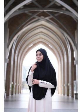Basic Hijab Umrah Haji Black