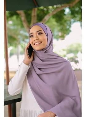 Amanda Shawl - Greyish Purple