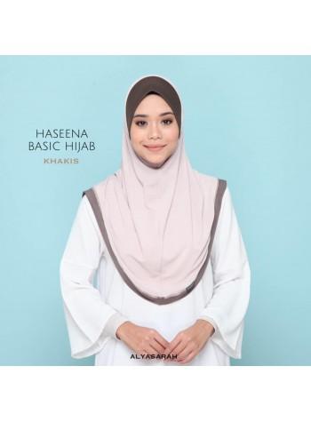 Haseena Basic Hijab - Khakis