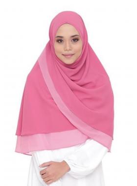 Khimar Daniya - Pink