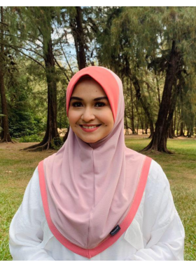 Haseena Basic Hijab - Baby Pink