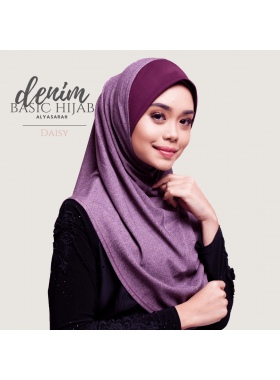 Basic Hijab Denim - Daisy