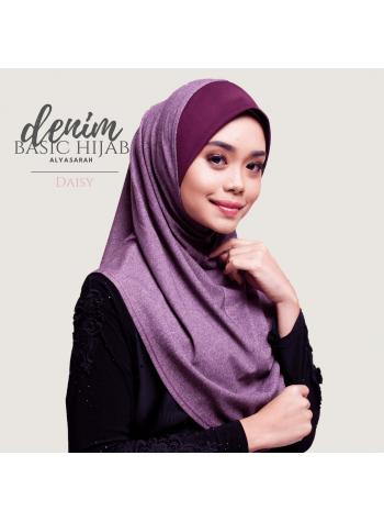 Basic Hijab Denim - Daisy