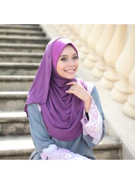 Layla Soft Awning -Velvet purple