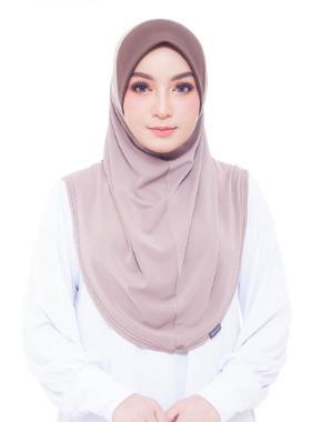 Basic Hijab - Khaki #33