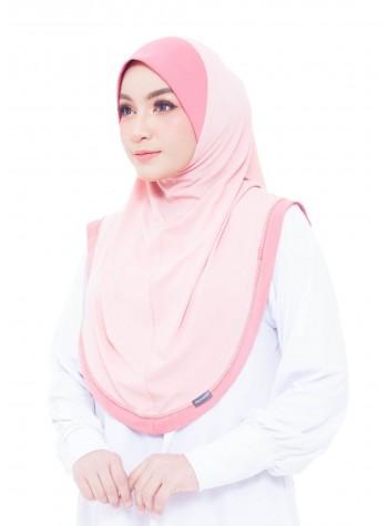 Haseena Basic Hijab - Bubblegum