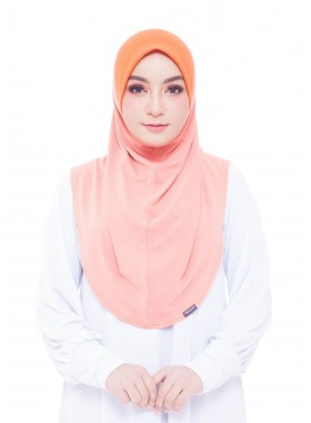 Basic Hijab - Light Orange #82