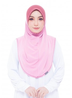 Basic Hijab - Baby Pink #70