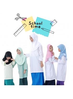 School - White